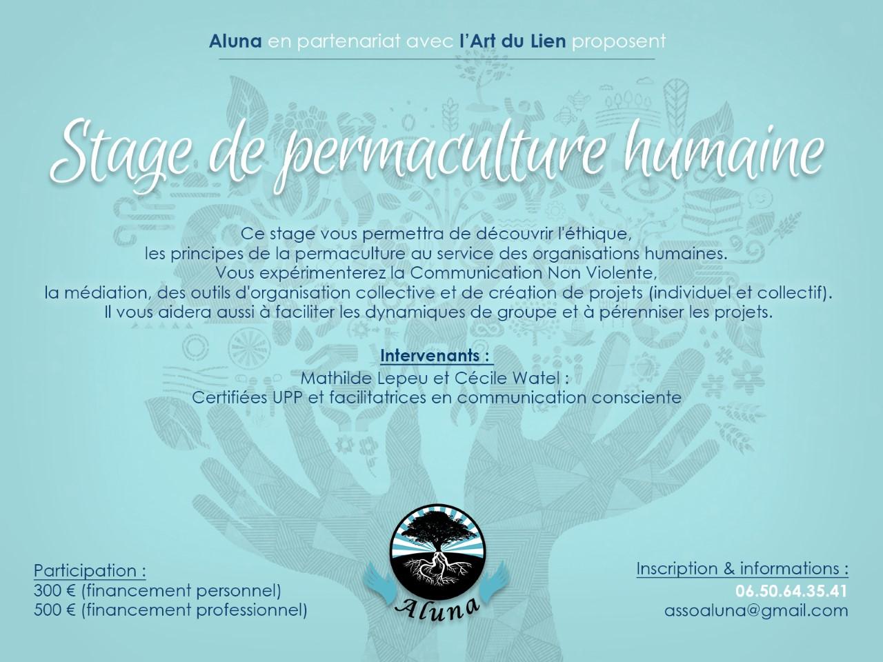 Stage de permaculture humaine à Issé (44) @ l'Eco-hameau du ruisseau | Issé | Pays de la Loire | France