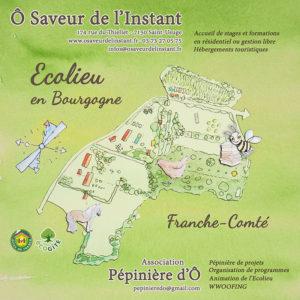 Cours Certifié de Permaculture en Bourgogne @ Ecolieu Ô Saveur de l'Instant | Montcony | Bourgogne Franche-Comté | France