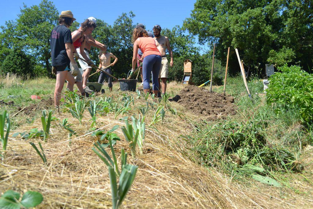 La permaculture au jardin à Cobonne (26) @ Les jardins de la grande dans la bio Vallée | Cobonne | Auvergne-Rhône-Alpes | France