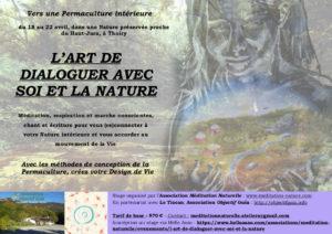 Vers une permaculture intérieure: L'Art de dialoguer avec Soi et la Nature - Haut-Jura @ Associatiion objectif Gaïa | Thoiry | Auvergne-Rhône-Alpes | France