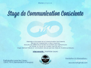 "Stage de communication consciente, Module 1, ""Le lien à soi"" (85)"
