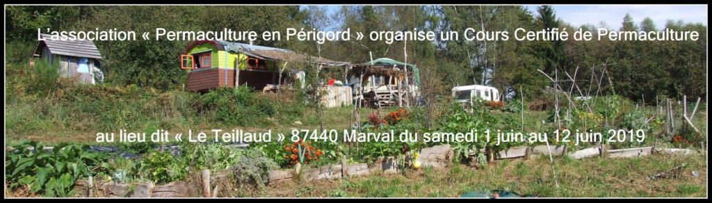 """Cours Certifié de Permaculture de 12 jours au lieu dit """"Le Teillaud"""" @ Lieu dit « Le Teillaud »"""