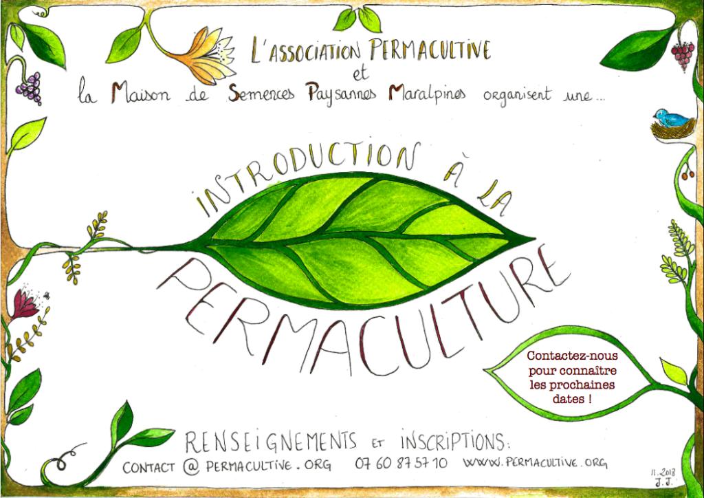 Introduction à la permaculture - 23 et 24 février à Nice @ La Maison de Semences Paysannes Maralpines | Nice | Provence-Alpes-Côte d'Azur | France