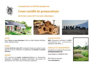 CCP sur 5 lieux en Loire Atlantique, de février à juin 2019 (en 5 sessions + ateliers pratiques) @ Le cours se déroulera sur 5 lieux situés en Loire-Atlantique (voir descriptif ci-dessous)