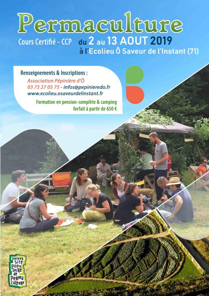 Cours Certifie de Permaculture à l'Ecolieu Ô Saveur de l'Instant @ Ecolieu Ô Saveur de l'Instant