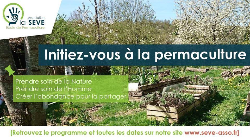 Initiation Permaculture - Ecole de Permaculture / La SEVE - Ferme de la Cure (78) @ Ferme de la Cure