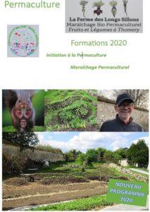 Formation en maraîchage bio permaculturel à la Ferme des Longs Sillons (Thomery, Seine et Marne) @ La Ferme des Longs Sillons