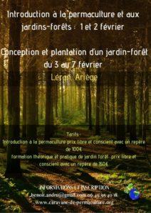 Introduction à la permaculture et aux jardins-forêts @ Gîte du Moulinet