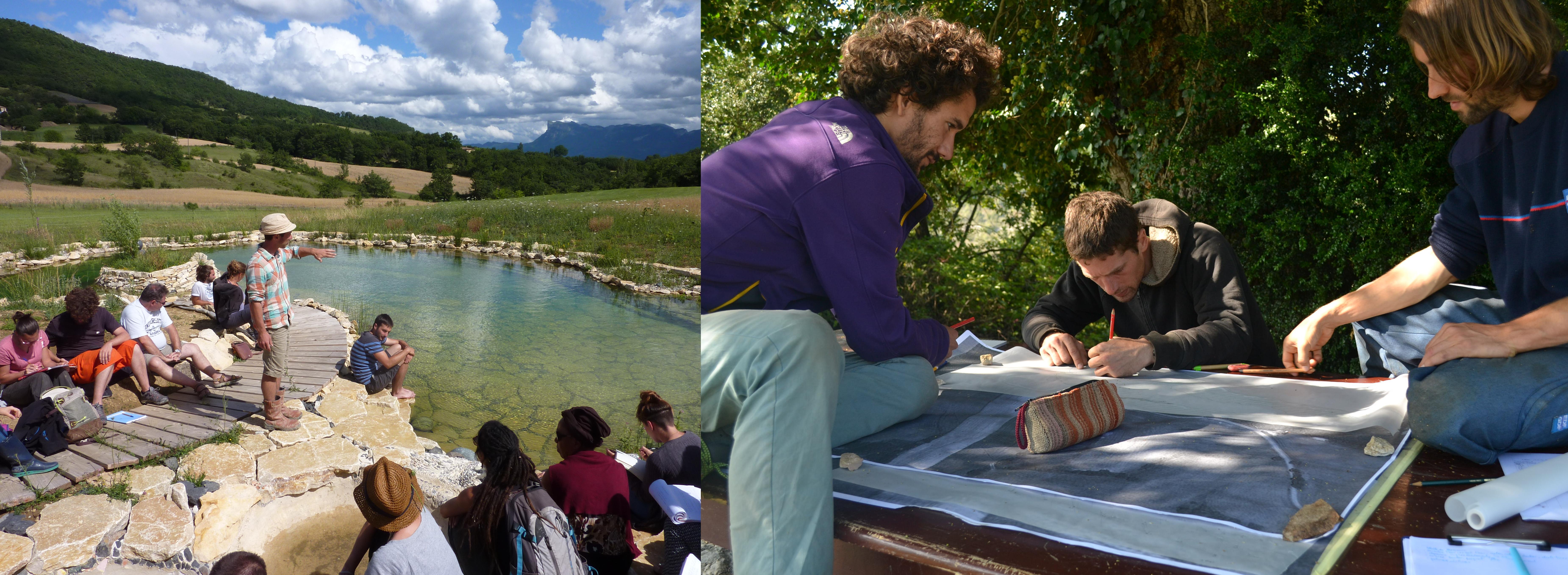 L'eau : concevoir un paysage fertile @ Les jardins de la grange