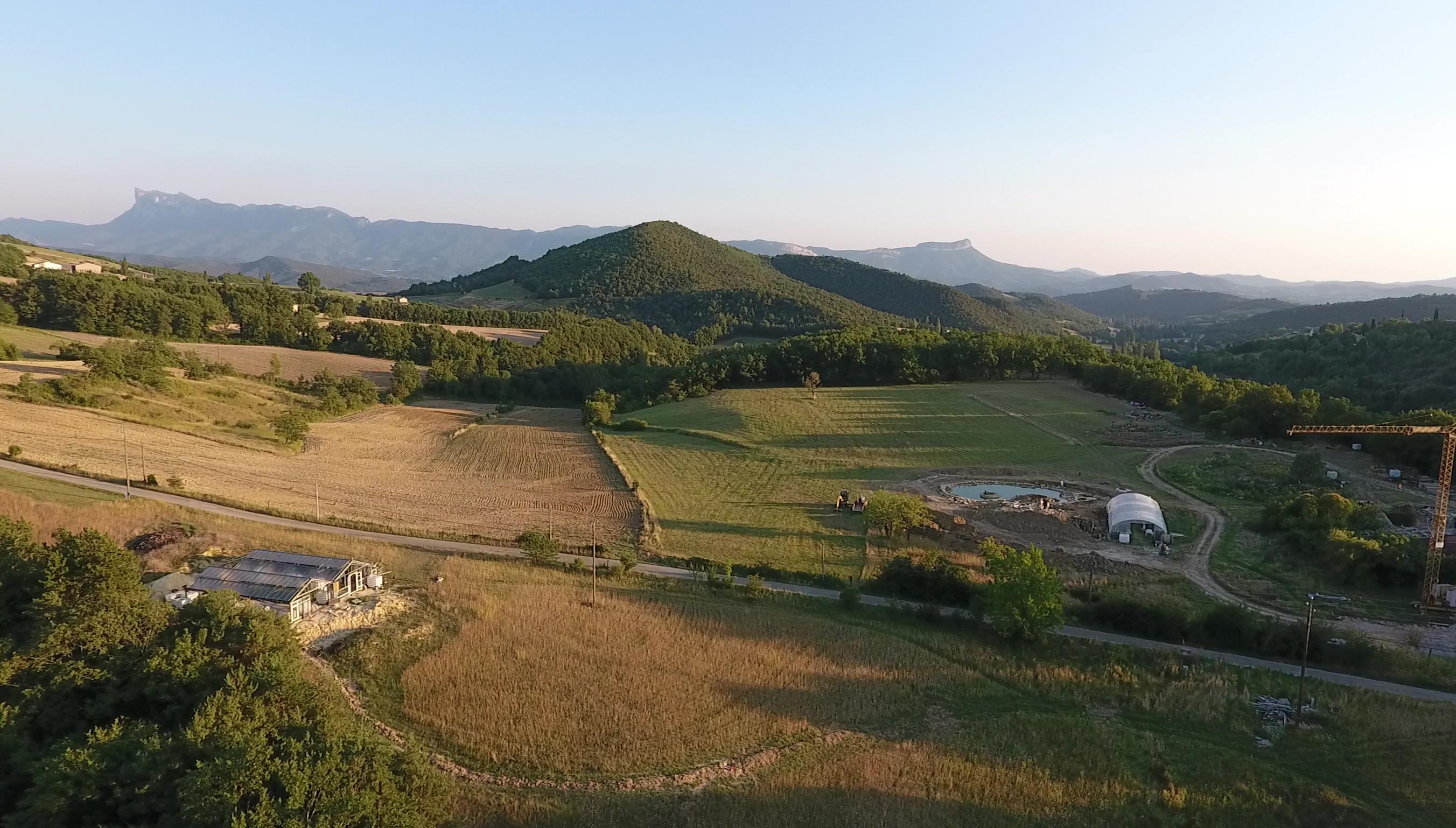 CCP Cours Certifié de Permaculture à l'Atelier des Alvéoles dans la Drôme @ Les jardins de la grange