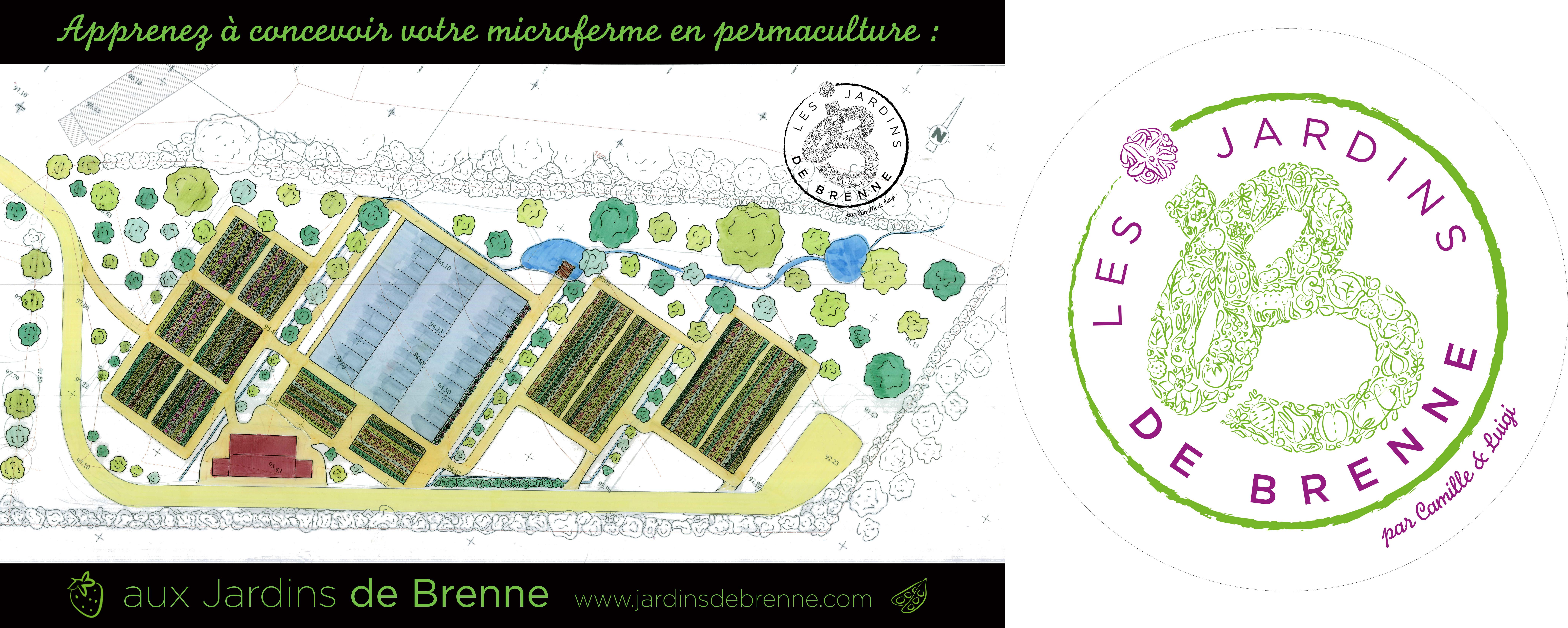 La microferme permaculturelle, devenir paysan en permaculture (Indre) @ Les Jardins de Brenne