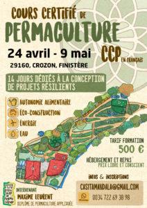 CCP Cours Certifié en Permaculture à la Casita Mandala, à Raguenez (Finistère)