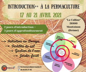 Formation INTRODUCTION++ à la PERMACULTURE @ La Colline