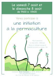 """Stage d'initiation à la permaculture centre-Manche """"La permaculture en milieu urbain"""""""